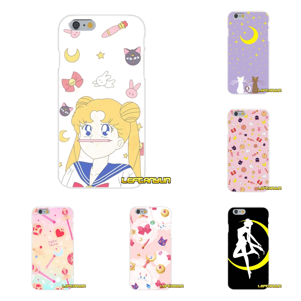 Beautiful For Motorola Moto G Lg Spirit G2 G3 Mini G4 G5 K4 K7 K8 K10 V10 V20 V30 Sailor Moon Cartoon Accessories Phone Shell Covers Comfortable And Easy To Wear Phone Bags & Cases Cellphones & Telecommunications