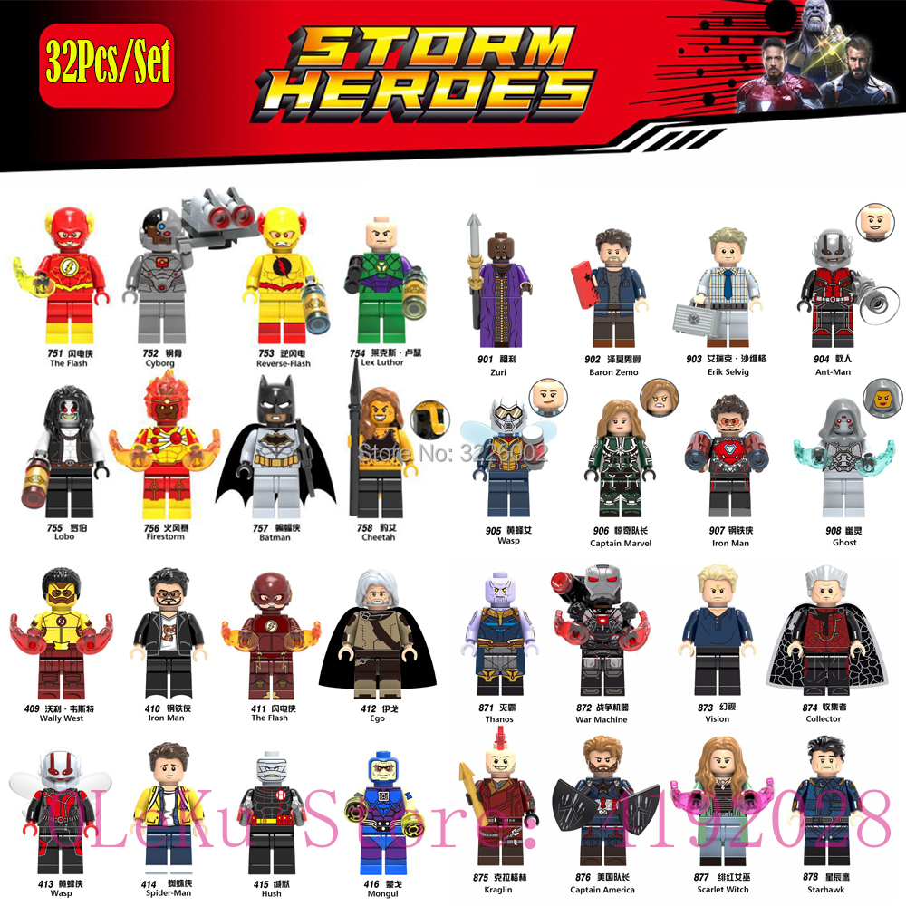 For lEGOING Batman Marvel Figures Avengers Bricks Spiderman Iron man Super Heroes Model Building Blocks Super Hero Set kids Toys new 765pcs sy327 super heroes assemble the avengers building bricks blocks set education toys for children minifigure page 6