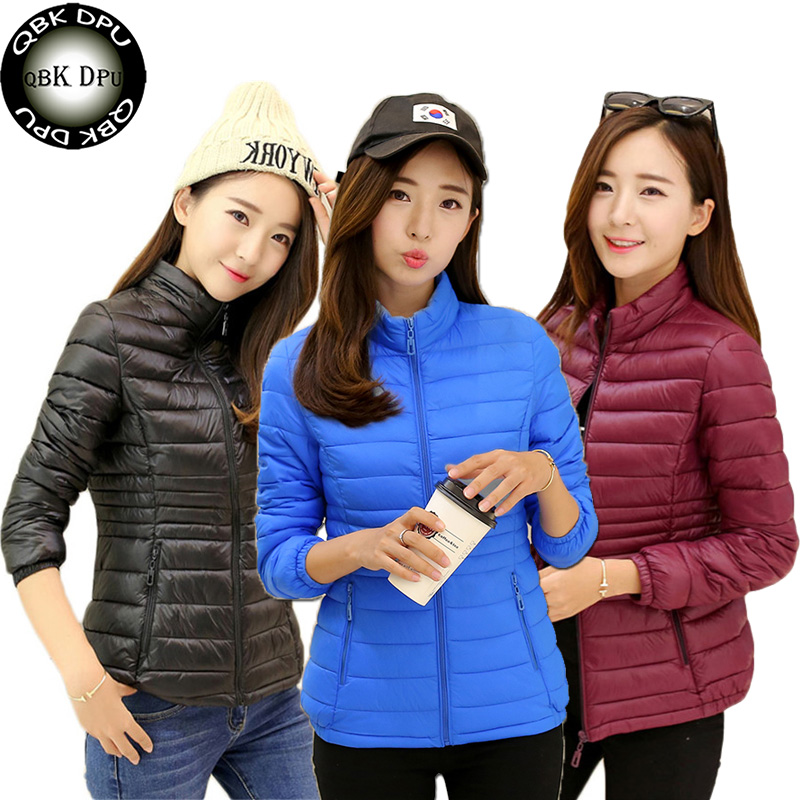 4XL 5XL Ultra Light Thin Winter Coat Women 2018 Plus Size Down Cotton Winter Jackets Casual Short   Parkas   Ladies Clothes L-5XL