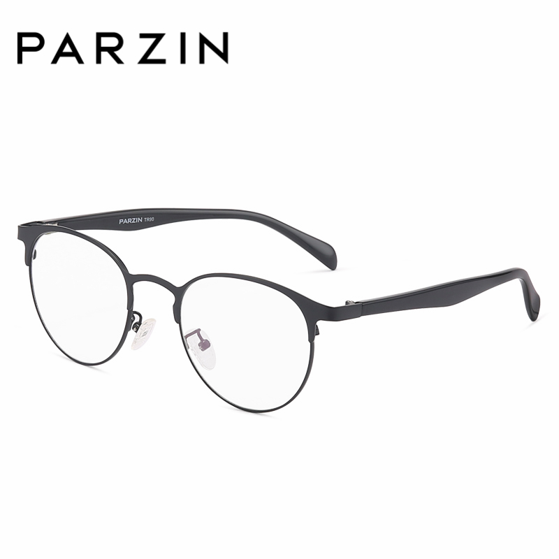 da886ce40a PARZIN Glasses Frame With Clear Lens Fashion Tortoiseshell Myopia Glasses  Frame Online Shop Unisex Eyewear Accessories 5062