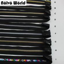 15Yards NEW 5# Resin teeth Invisible zipper head plus movable zipper resin for bags,garments fabric NO.5 teeth