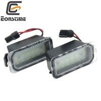 Eonstime 2Pcs 18SMD LED License Plate Number Light Lamp Error Free For Ford Fiesta JA8 Focus