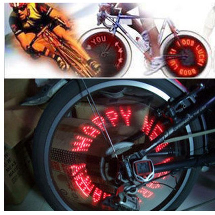 Luz de la bicicleta de Válvula Del Neumático Caps Calentamiento Luz Moto LLEVÓ L
