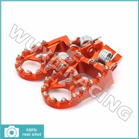 Billet MX Motocross Offroad Foot Pegs Footpegs Footrests Pedals For KTM SX SX F 125 144