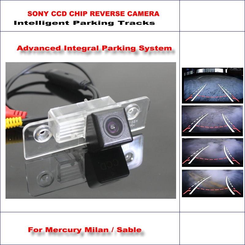 Caméra de recul intelligente pour Mercury Milan/Sable arrière/580 lignes de télévision pistes de guidage dynamiques