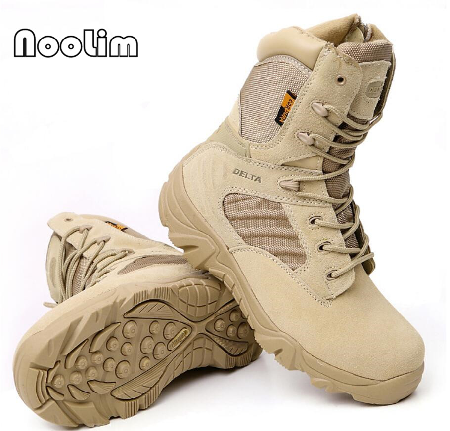 Men s Desert Camouflage Military Tactical Boots Men Outdoor Combat Army Boots Botas Militares Sapatos Masculino