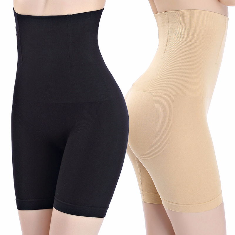 AOBRITON High Waist Tummy Control Body Shaping Slimming Underwear Women Control Panties Breathable Plus Size Underwears