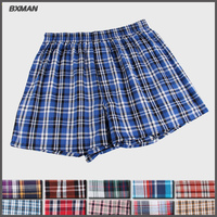 Eight Style Plaid Woven Cotton Sexy Men S Boxers Shorts And High Quality Best Price Men