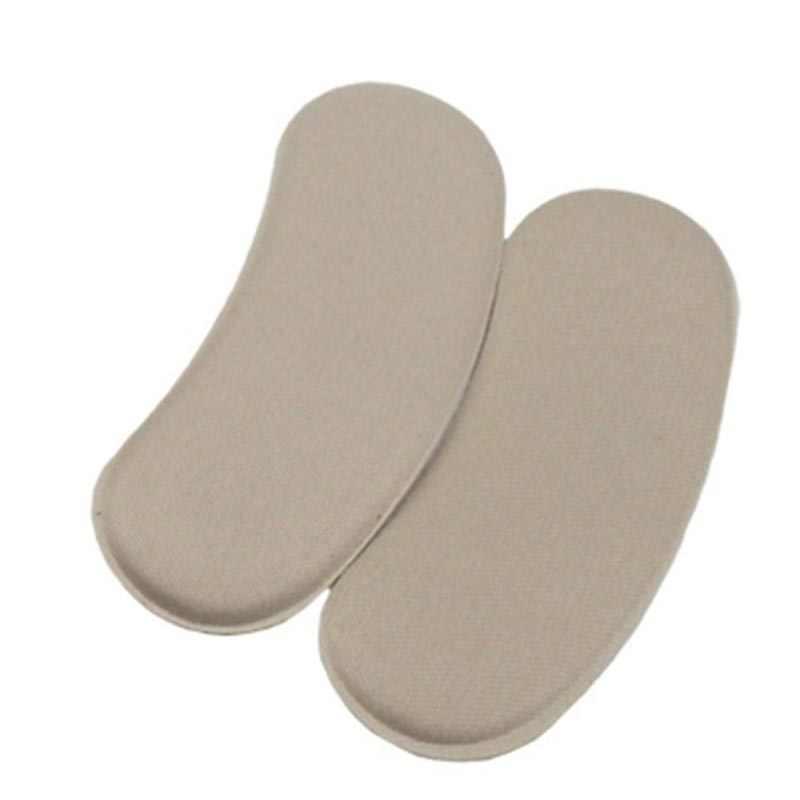 1 คู่ฟองน้ำที่มองไม่เห็น Back Heel Pads สำหรับรองเท้าส้นสูง Grip กาว Liner Foot Care Protector Pads Insoles