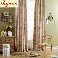 Thick Blackout Curtains 3x2 6 Modern Europe Grommet Top Bedroom Curtain Floral Spring Flowers New Arrival