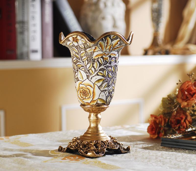 jarrn decorativo de lujo europeo muebles para el hogar decoracin florero relieve creativo prctico hogar arte