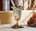 Luxo Europeu decorativo vaso de Decoração Para Casa Vaso em relevo Decoração Ornamento Do ofício da resina do desktop em casa criativo prático