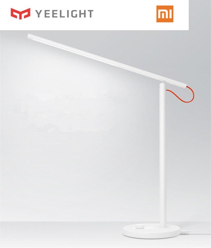 Original Xiaomi Yeelight lampe de bureau Mijia LED lampes de Table intelligentes bureau lumière lumière LED étude Support téléphone portable App télécommande