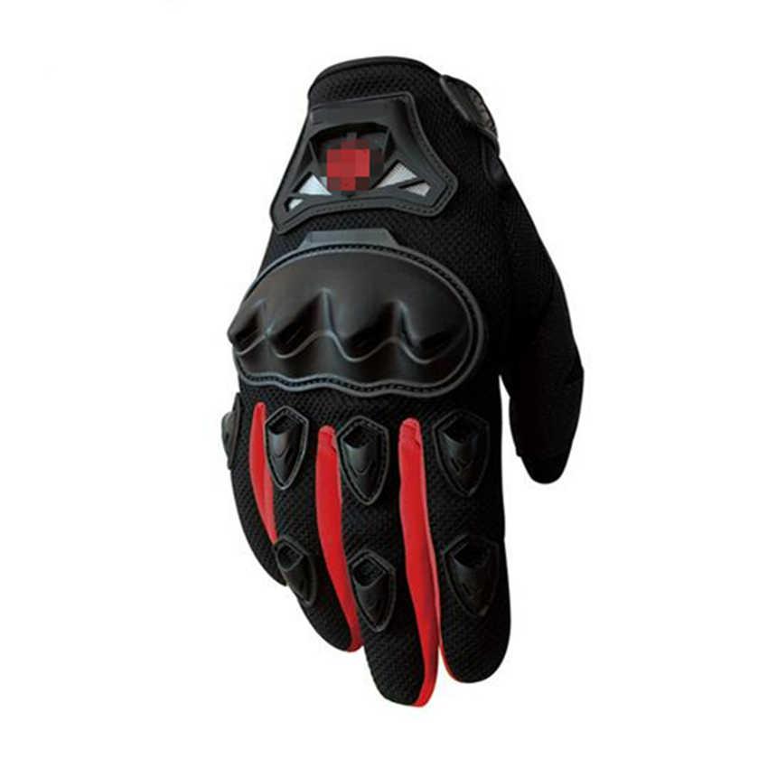 新到着オートバイ手袋夏通気性ウェアラブル保護モト Luvas 高山モトクロス Gants Guantes モト Verano に Guant