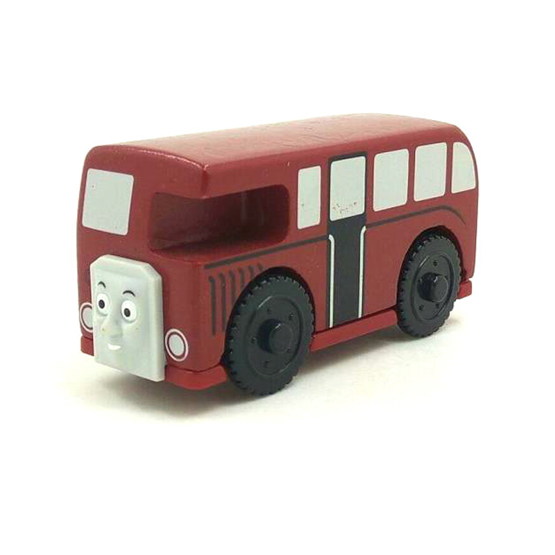 W46 free shipping RARE BERTIE Original Thomas And Friends Wooden Magnetic Railway Model Train Engine Boy Toy Christmas Gift