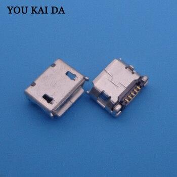 1000pcs Micro USB 5P,5pin Micro USB Jack,5Pins Micro USB Connector Tail Charging socket port