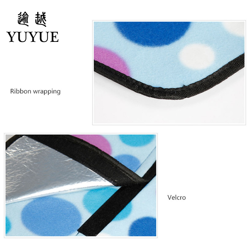Big size picnic mat high quality suede aluminum file waterproof for tourist camping tent fishing picnic camping mat 5
