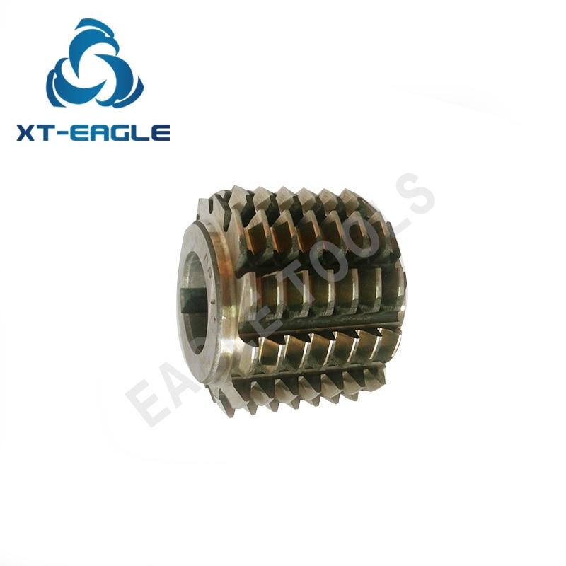 HSS DP10 Gear Hob Cutter PA20 degree 65 55 22hole