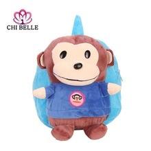 Manufacturers wholesale cartoon plush book bag student travel children backpack doll shoulder