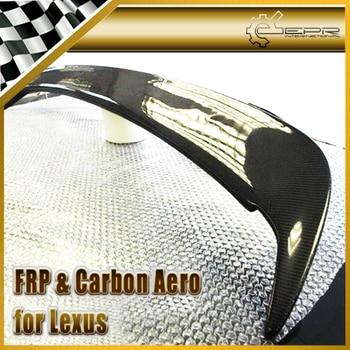 Car Styling For Lexus IS200 TRD Style Carbon Fiber Rear Lip Spoiler