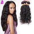 Indiano virgem onda de água do cabelo cabelo humano não processado 7A Water Wave virgem cabelo Weave 3 Bundles / Lot WaterWave extensões de cabelo