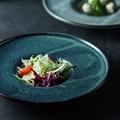 EECAMAIL Europäischen Kreative Persönlichkeit Keramik Westlichen Pasta Gericht Suppe Gericht Stroh Hut Platte Hause Deep Dish-in Geschirr & Platten aus Heim und Garten bei
