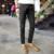 Invierno palazzo pantalones más tamaño ocasional pantalones de algodón gruesa ropa de emily rose advertir los hombres de gran tamaño de mezclilla pantalones de terciopelo 2015