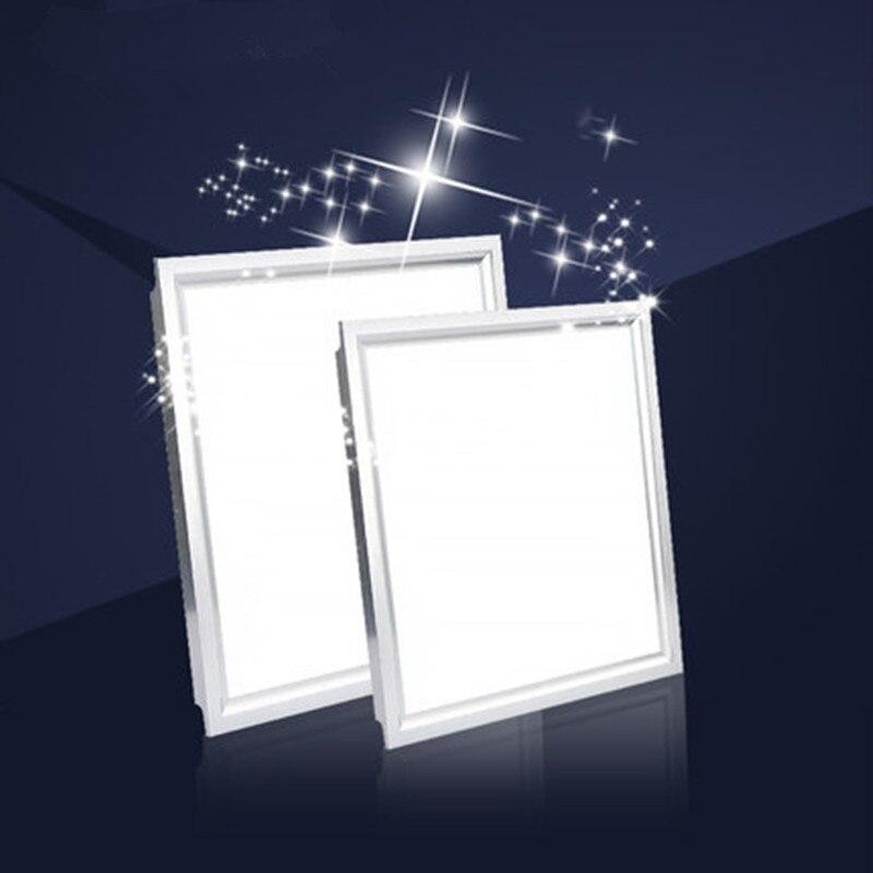 Integrierte decken led leuchten flach lichter aluminium platten ...