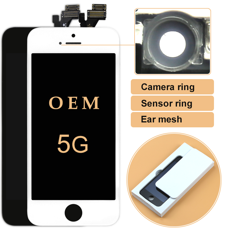 10pcs For iPhone 5s 5c 5 LCD OEM Display with Touch Screen