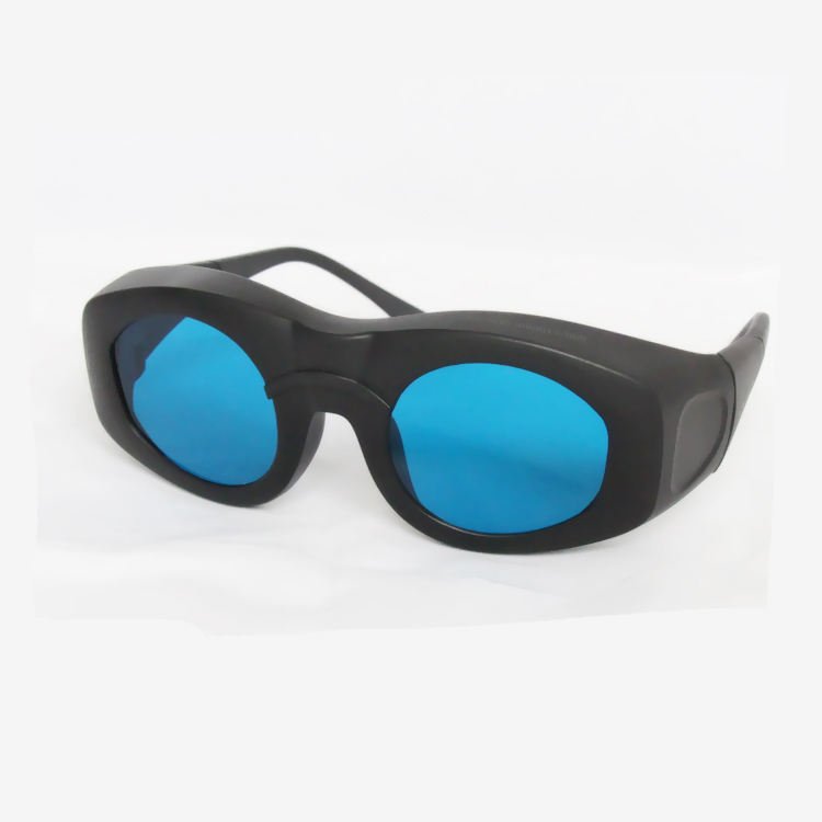 O.D 6 + laser safety glasses for 600 -1100nm CE certified high VLT%> 65% for 635, 650nm,755nm, 780nm, 808, 810, 980,1064nm laser 808nm 1064nm and 10600nm laser safety glasses high transmittance 65% o d 5 6