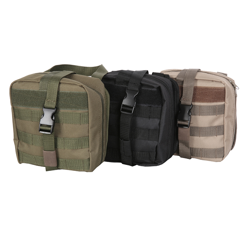Tactical IFAK First Aid Bag MOLLE EMT Rip-Away Medical Military Utility Pouch rescue package for Travel hunting hiking