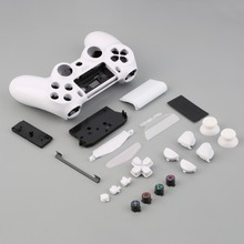Gamepad Controller Housing Shell W/Buttons Kit for PS4 Handle Cover Case
