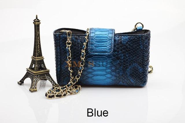 Handbag Embossed Python...