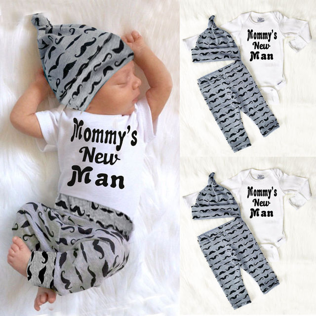 Aliexpress Com Buy Cute 3pcs Set Newborn Baby Boy