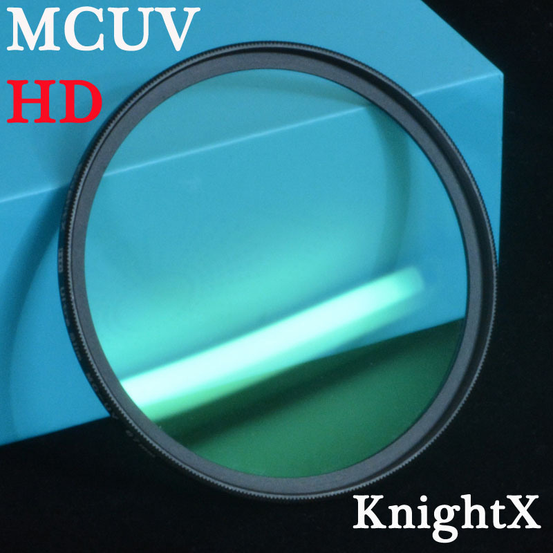 KnightX 49mm - 77mm 52mm HD MC UV MCUV sky FILTER for Nikon D3100 D3200 D5200 D7100  D5100 fotografia lentes d5500 dish-cloth