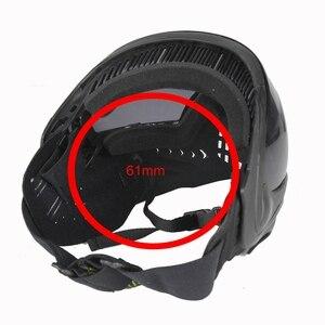 Image 3 - FMA Sporten Airsoft Tactical Eyewear Ski Jacht Veiligheid Anti fog Beschermende Goggle Volgelaatsmasker met Zwarte Lens FM 0022