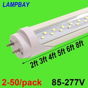 guxen 4ft led tubes 22w 28w t8 led tube lamp 1200mm ac90 260v single double row 2835 led lamp 2 years warranty ce rohs 2-50/pack Double Row LED Tube Lights 2ft 3ft 4ft 5ft 6ft T8 G13 Fluorescent Retrofit Bulb Super Bright Lamp 48 Bar Lighting