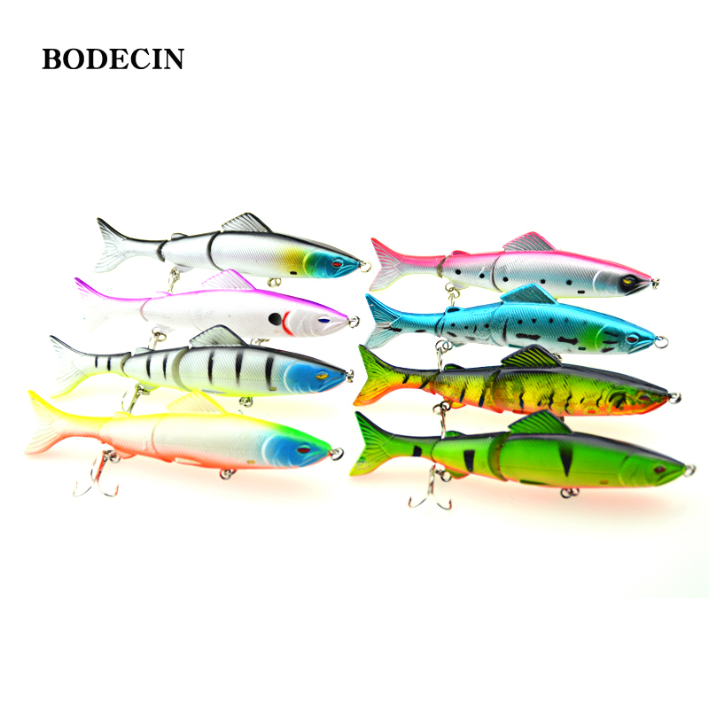 8PCS Wobbler Minnow Fishing Lure For Bass Lures With Hooks Tackle Pesca Fish Bait Hard Artificial Baits Pike 3D Eyes 127g 125mm 100pcs lot kinds of fishing lures hooks fish hooks tackle minnow bass baits tackle box