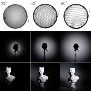 Image 5 - 7 بوصة 18 سنتيمتر القياسية عاكس الناشر مع العسل شبكة ل unia جبل إضاءة الاستوديو ستروب فلاش K 150A K 180A E250 E300