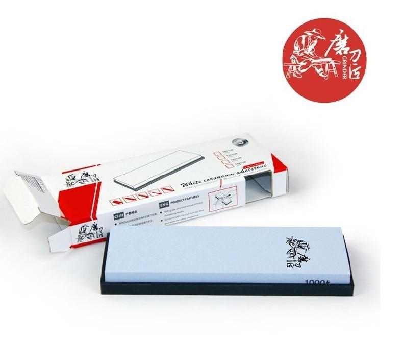 TAIDEA Corundum Stone 1000 Grit Knife sharpener Superfine white corundum whetstone T7100W white color