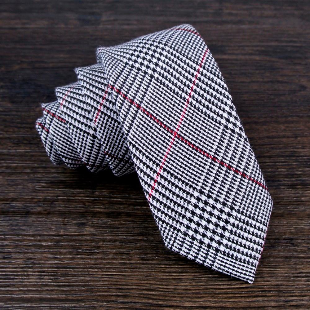 nuovo stile di seleziona per ufficiale ricco e magnifico Fatti a mano Cravatta Magro Controllato Plaid Tartan ...
