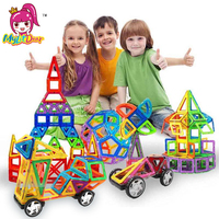 MylitDear Big Size Magnetic Designer 34Pcs Building Blocks 3D Construction Toy Kids Baby Educational Creative Bricks