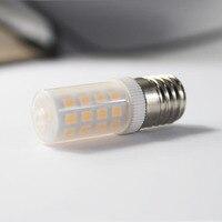 JLAPRIRA LED Ceramic Bulb G9 110V E11 3W Ceramic Plastic LED Light Bulb 110V Ceramic Light Body Pure White Warm White