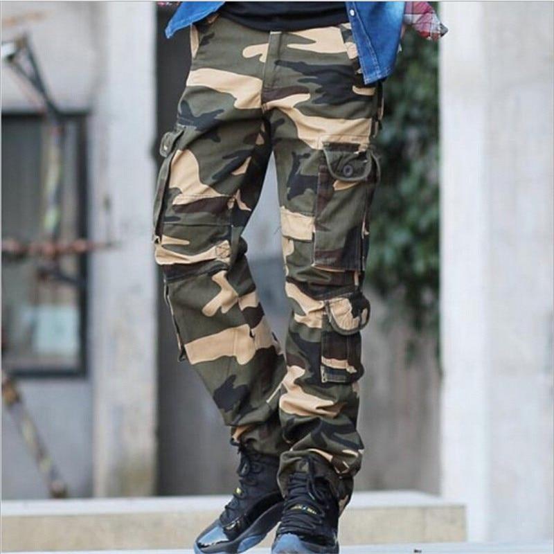 Männer Plus Größe Camouflage Cargo Pants Armee Grün Militär Homme Hosen Männer Casual Kleidung Männer Hosen Mp1223 Diversifizierte Neueste Designs Mutter & Kinder