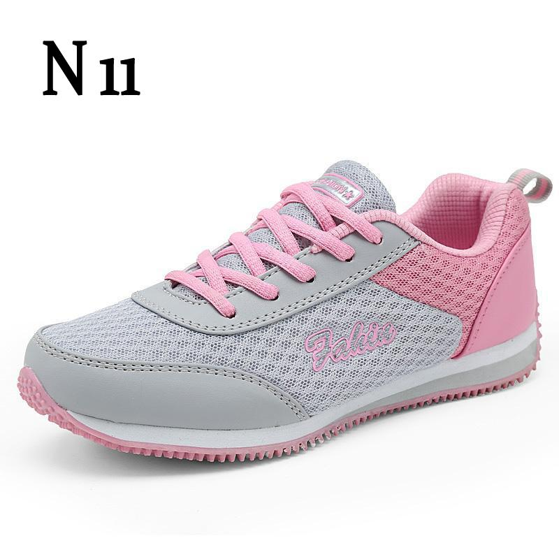 N11 New 2017 Fashion Summer Zapato Women Breathable Mesh Zapatillas Shoes For Women Network Soft Casual Shoes Wild Flats Casual new casual breathable mesh shoes for women floral pattern women s flats shoes fashion summer leisure net walking shoes 6 colors