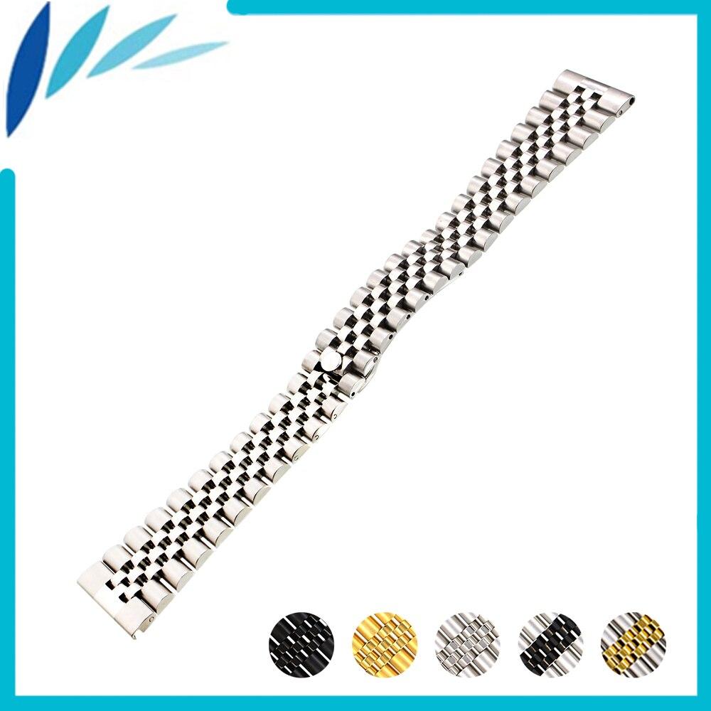 Edelstahl Uhrenarmband 18mm 20mm 22mm für CK Calvin Klein Schnellverschluss Bügel-armbanduhr Männer Frauen Schleife Gürtel Armband silber