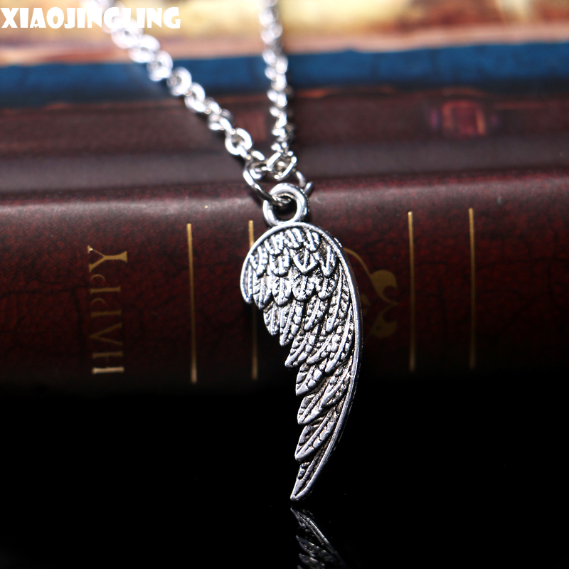 Hot Popular Quality Exquisite Alloy Jewelry Men/Women Vintage Choker Chain Collar Feather Supernatural Pendant Necklaces