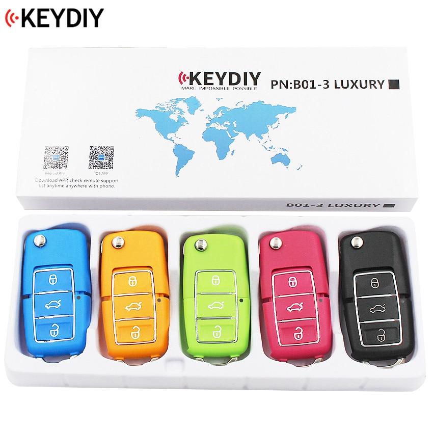 5PCS LOT KEYDIY Original Universal Remote Control Key B Series for KD900 KD900 URG200 B01 3
