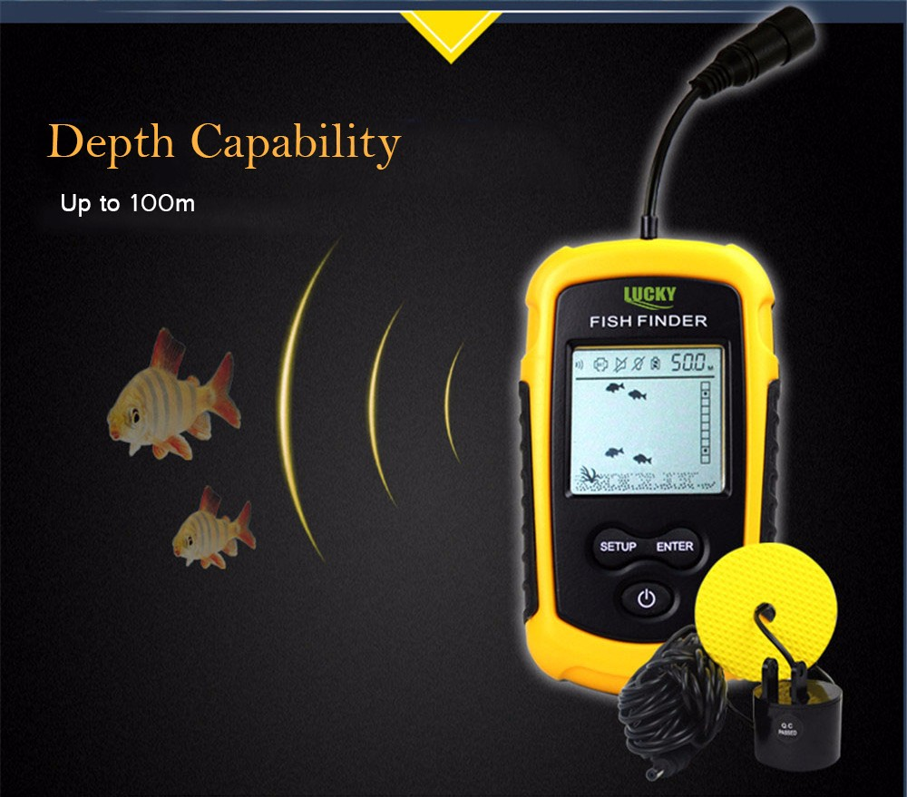 de peixes sonar sensor transdutor eco sounder