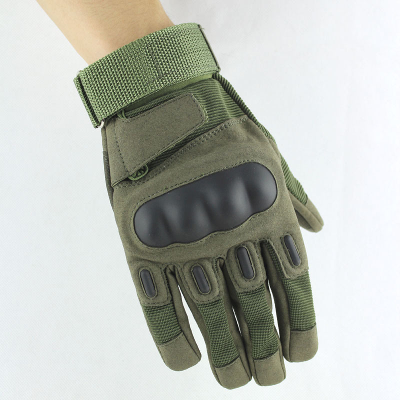Men Full Finger Tactical Gloves 2 Color Touch Screen Anti-slip Outdoor Sports Training Gloves MTB Bike Bicycle Cycling Gloves